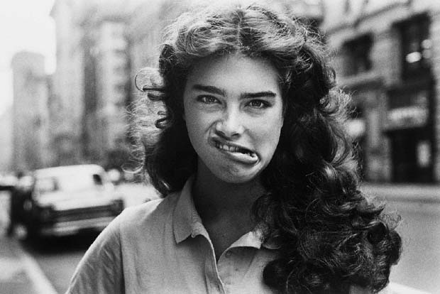 Brooke Shields, New York City, 1981