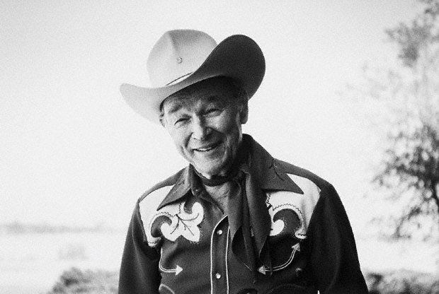 Roy Rogers, Victorville, California, 1990